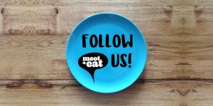 Follow us - meet+eat