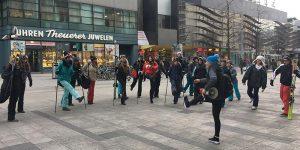 SKI4YOU – Street-Marketing-Aktion