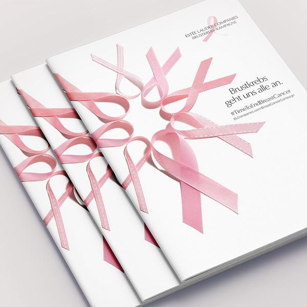 pink ribbon Broschüre