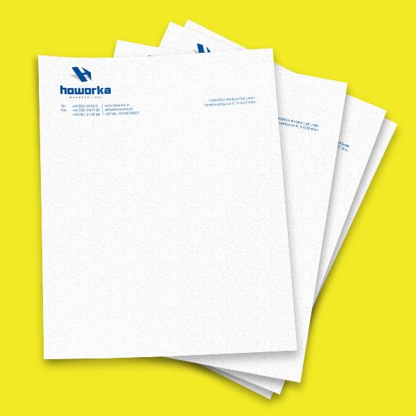 Howorka Briefpapier