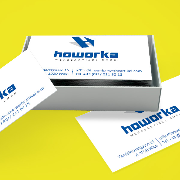 Howorka business cards
