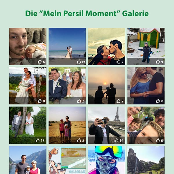 Mein Persil Moment - Galerie