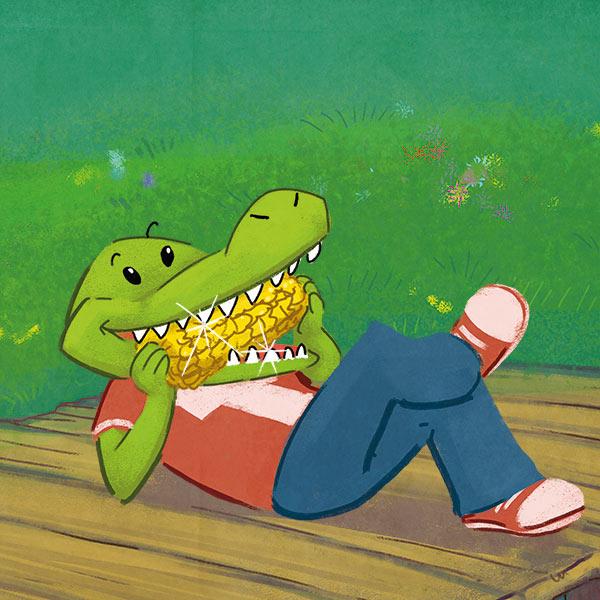 Theramed Krokodil