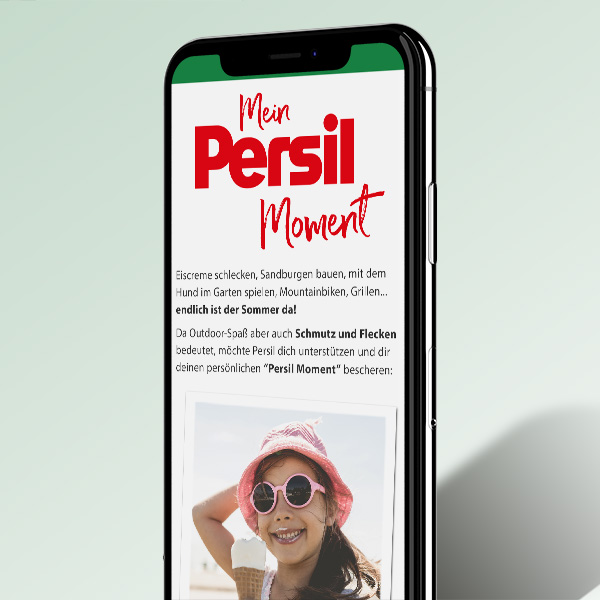 Mein Persil Moment - Mobile