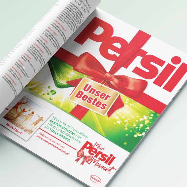 Mein Persil Moment - Print Ad
